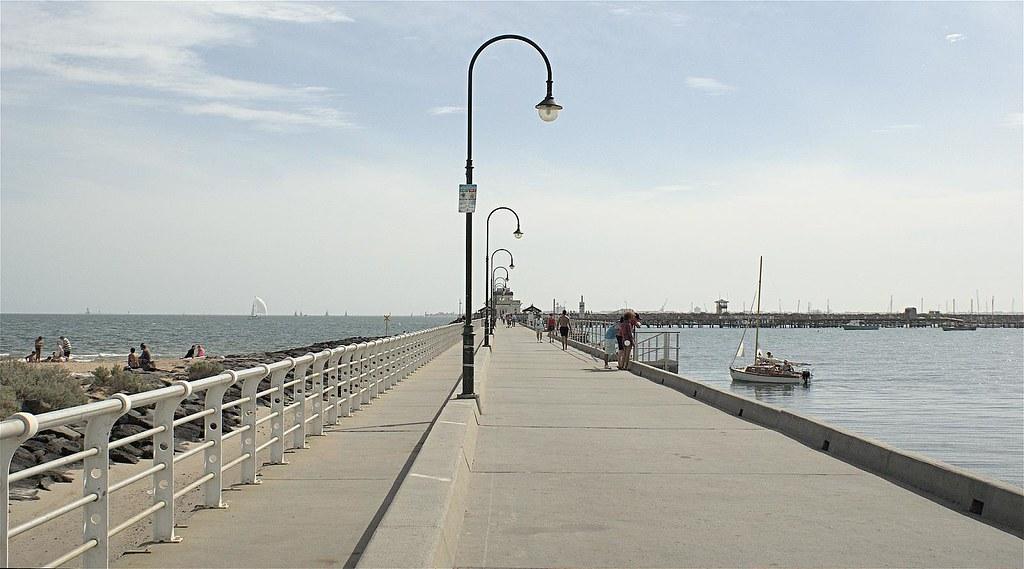 Melbourne Beach Pier Indialantic Fl