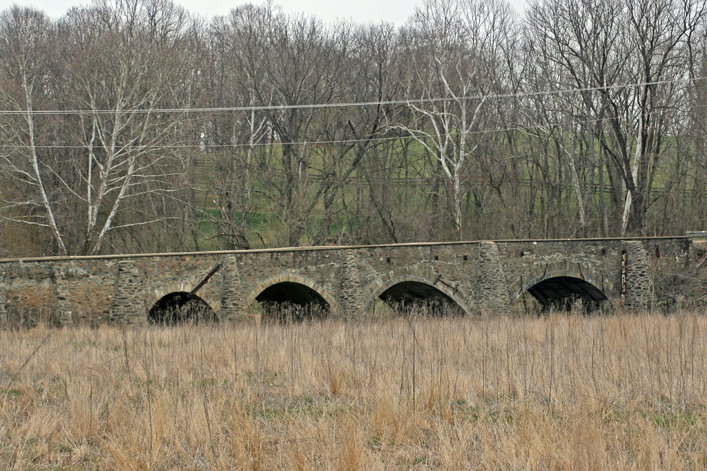 Stone bridge over goose creek built in 1802 during the for Built by nester