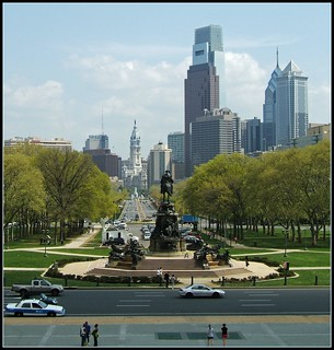 View: Museum to City Hall, Philadelphia | by Tony Fischer Photography