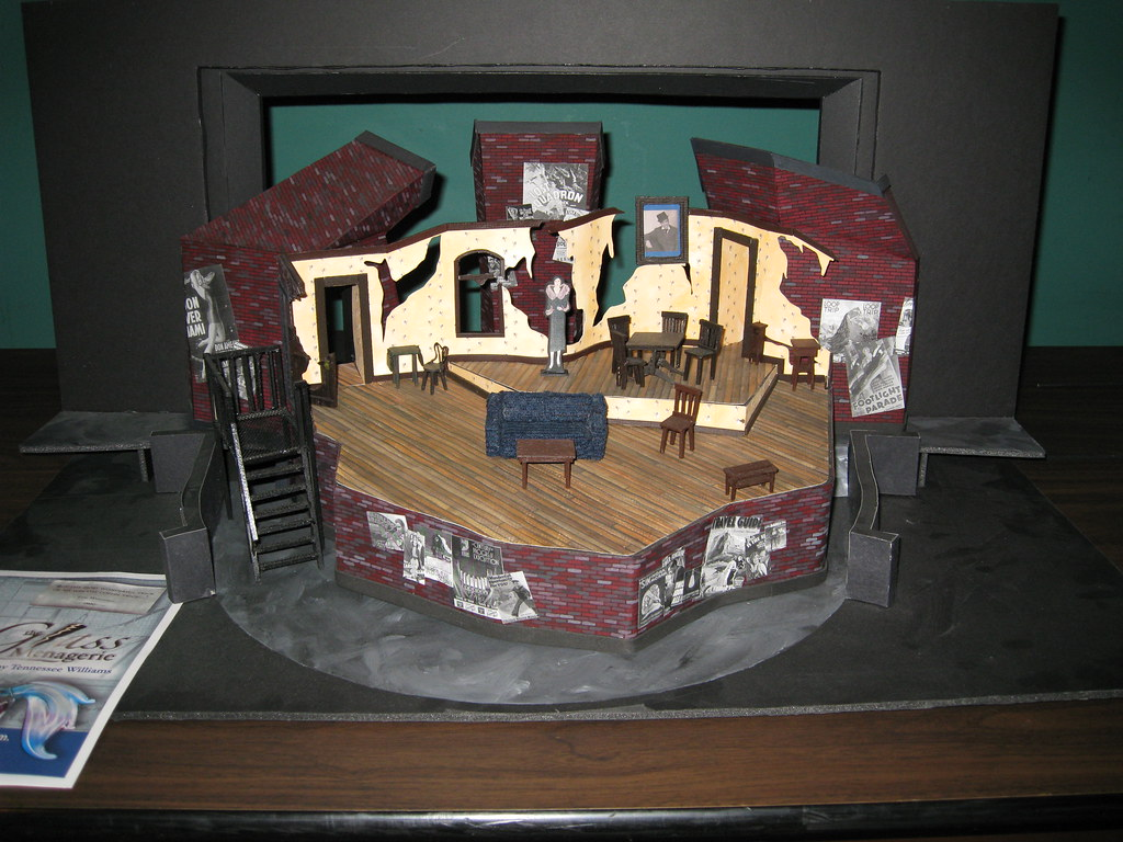 The Glass Menagerie Danielle S Set Design For Avila S