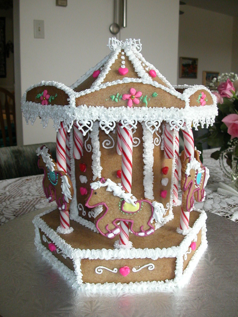 Gingerbread Merry Go Round Made This For My Friend S B