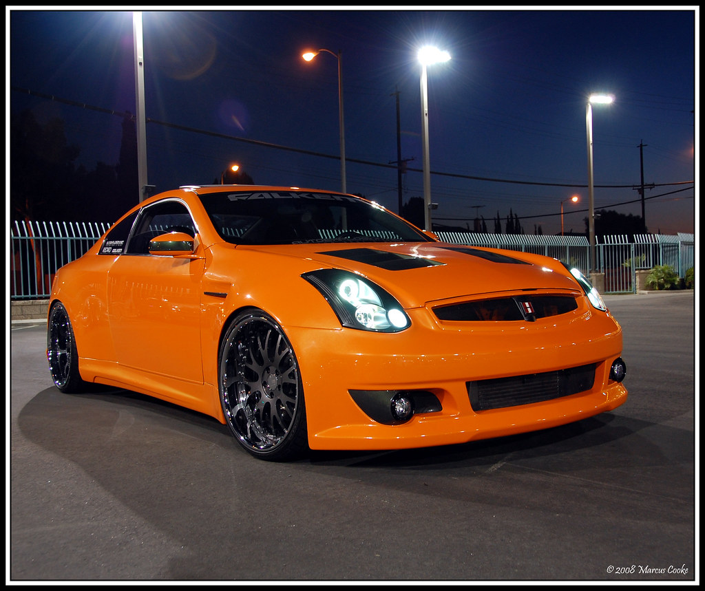 Custom Widebody Supercharged G35 | Marcus Cooke | Flickr
