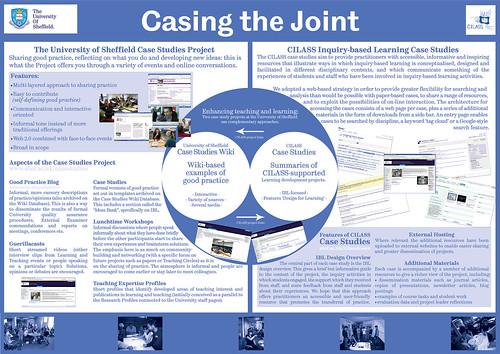 LTEA Conference Poster: Casing the Joint : Flickr - Photo ...