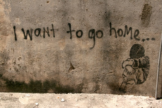 I want to go home there were a few of these around kl for I need a new home
