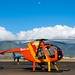 The (Magnum P.I.-like) helicopter I rode in