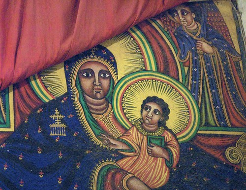 Ethiopian Virgin Mary and Jesus | by A.Davey
