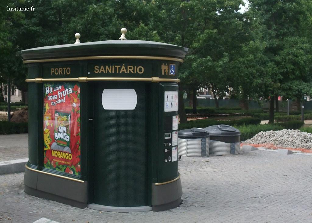Toilettes publiques de Porto