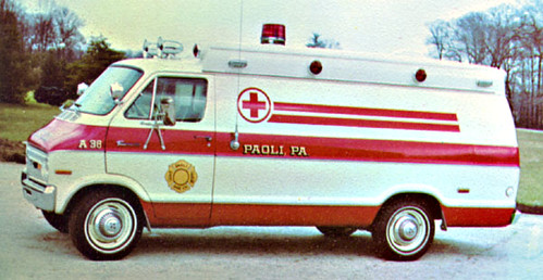 A 38 A 1974 Dodge Ambulance This Was Our First Van Type Flickr