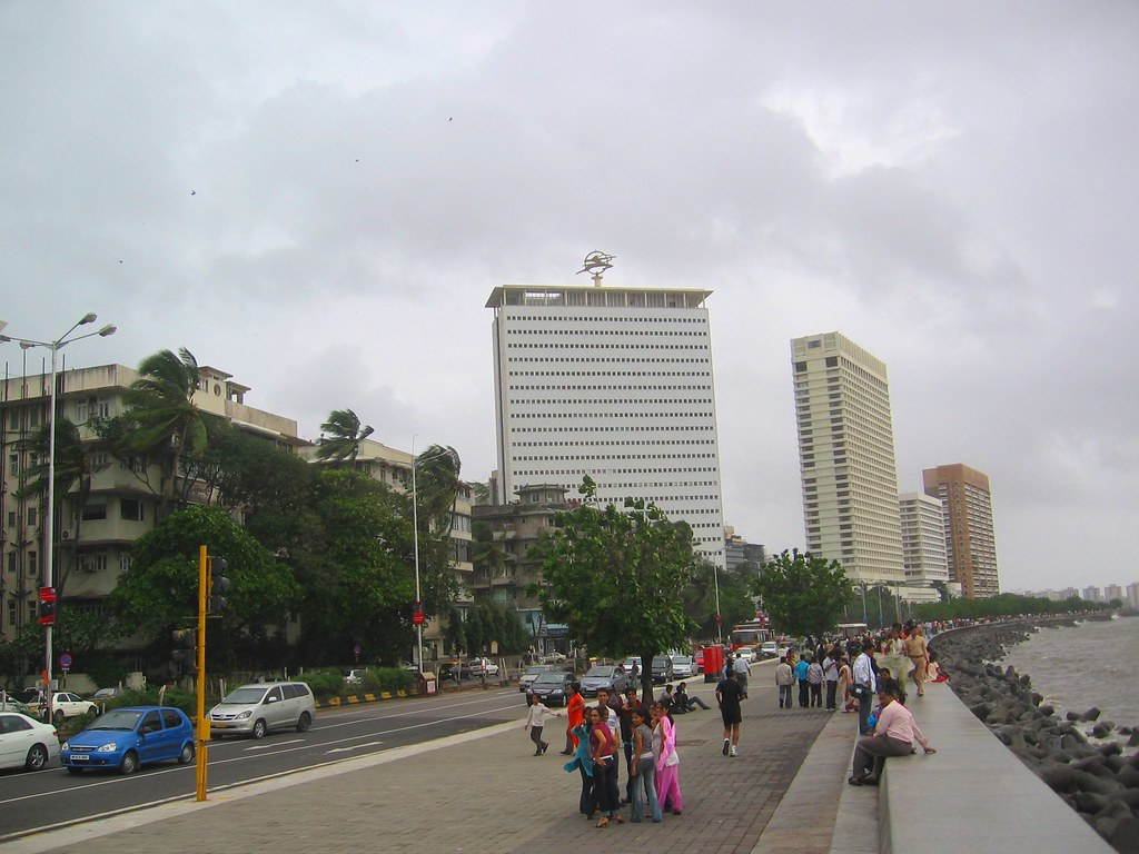 Marine Lines Mumbai | The building to the right of the one ...