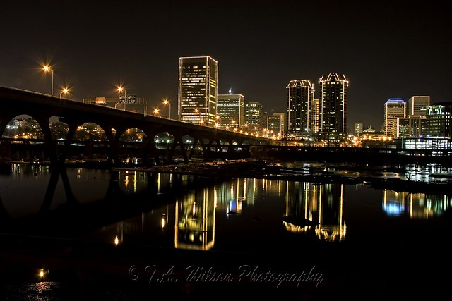 City Of Richmond Va >> River City Lights At Night | Richmond VA Grand Illumination … | Flickr