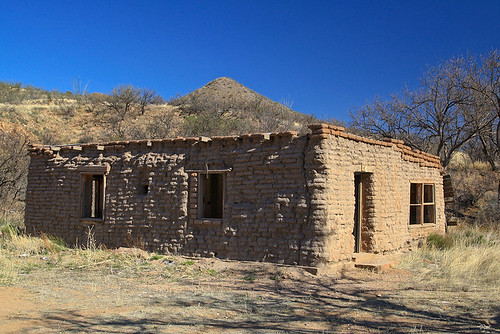 Old Adobe House By Eput