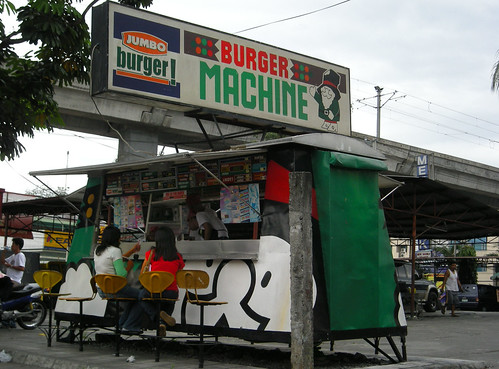 Burger Machine in the Philippines