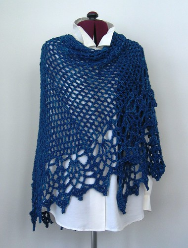 All Shawl in Boucle | by dorisjchan