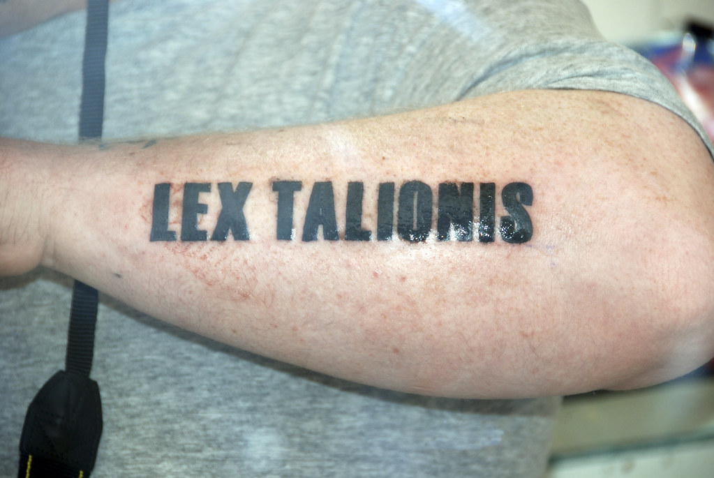 Lex Talionis Tattoo Designs