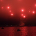 San Francisco Fireworks in the Fog