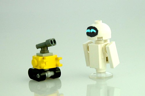 Wall E And Eve Size Comparison Works Out About Right