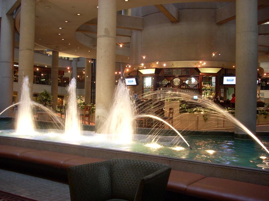 Westin Bonaventure Lobby Westin Bonaventure Hotel Lobby