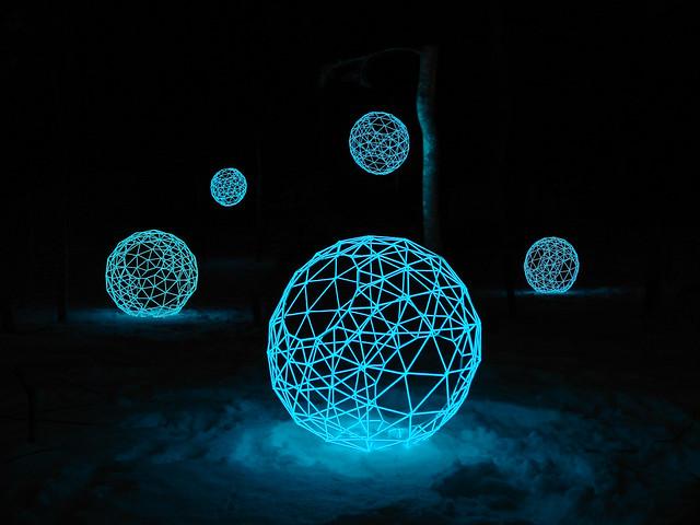 Sphere Luminescence Artist Tuukka Halonen Tuukka