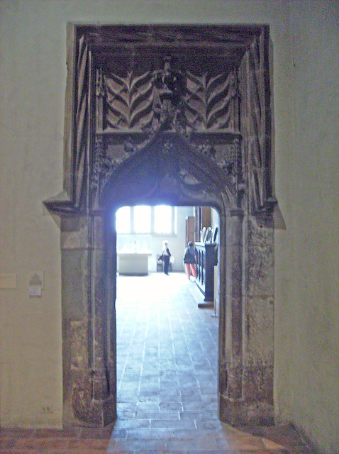 The Late Gothic Hall: Doorway from St-Julien at Pont-Saint ...