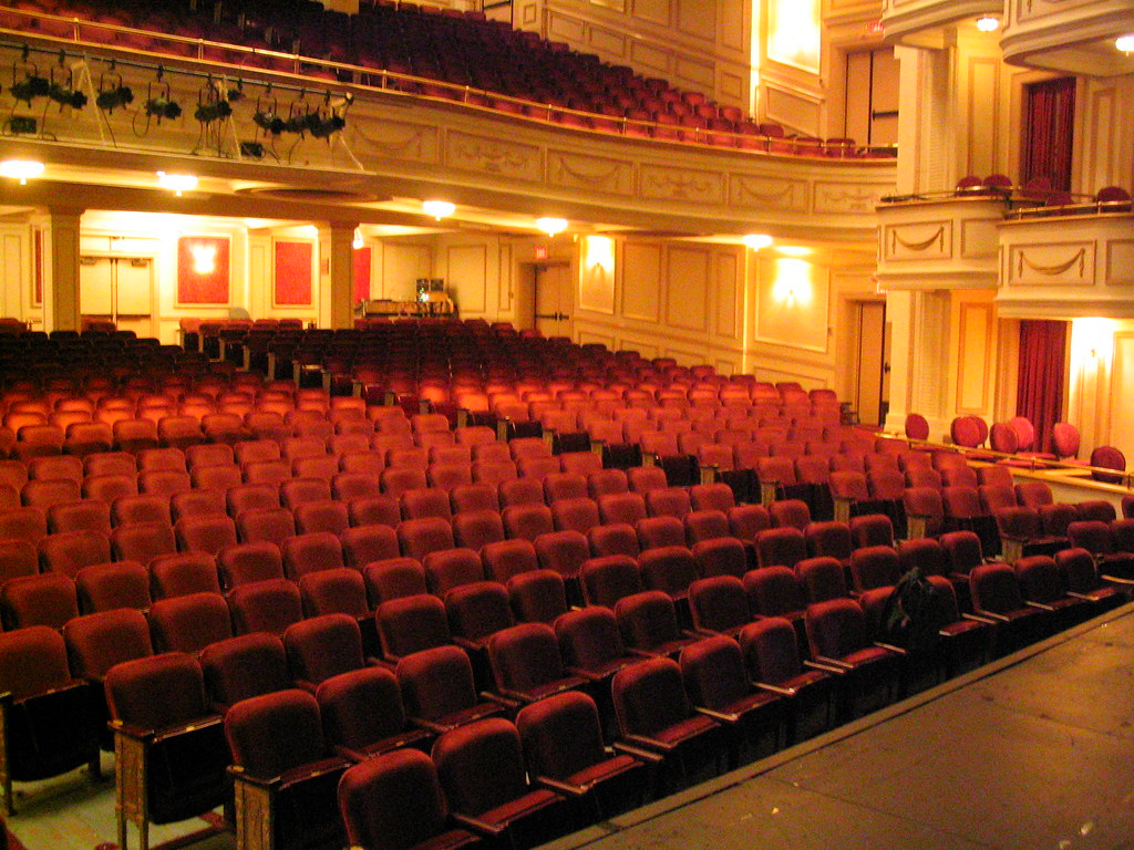 Shubert Theatre Auditorium In New Haven Ct Toby Simkin