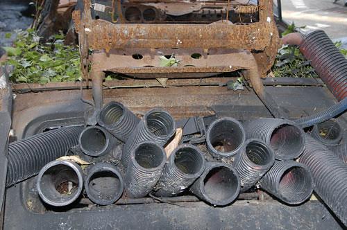 tbrl 3 2003 technique carcasse de voiture ciment soud flickr. Black Bedroom Furniture Sets. Home Design Ideas