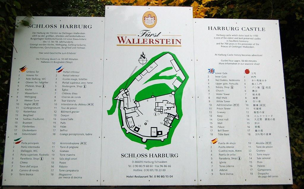 schloss harburg a map of the castle harburg germany. Black Bedroom Furniture Sets. Home Design Ideas
