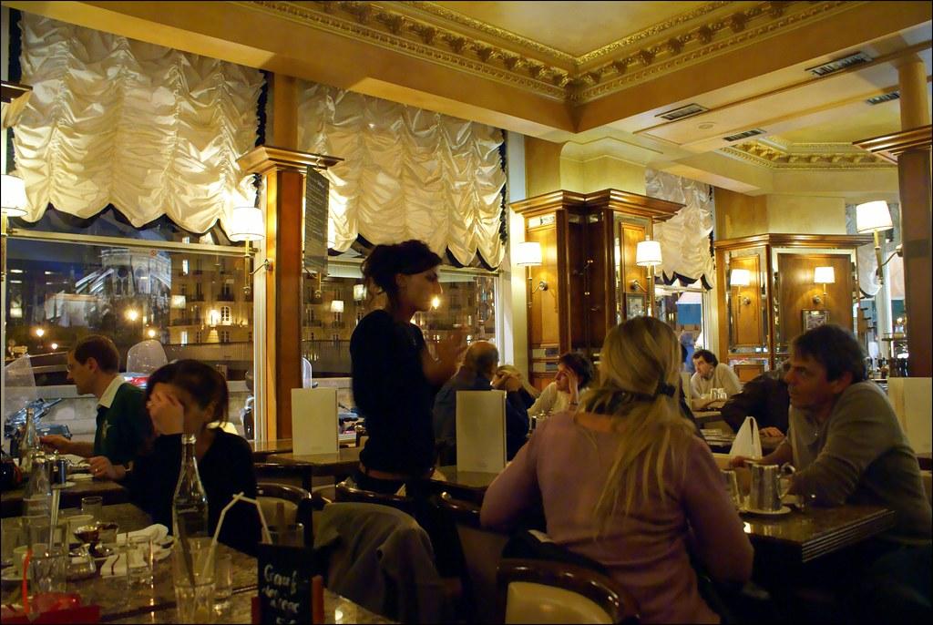 Cafe At Notre Dame De Paris