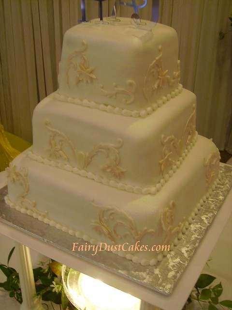 Cake Art N R Colony : Heathers art nouveau cake This cake was designed from ...