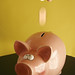 Piggy savings bank