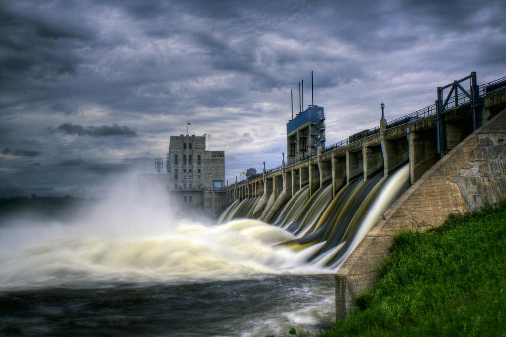 Seven Sister Hydro Dam