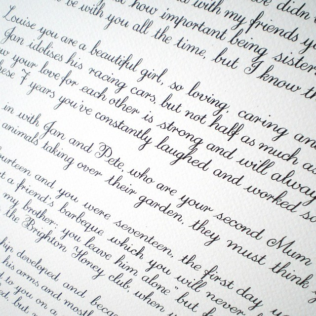 copperplate calligraphy copperplate flows it 39 s a lovely flickr. Black Bedroom Furniture Sets. Home Design Ideas
