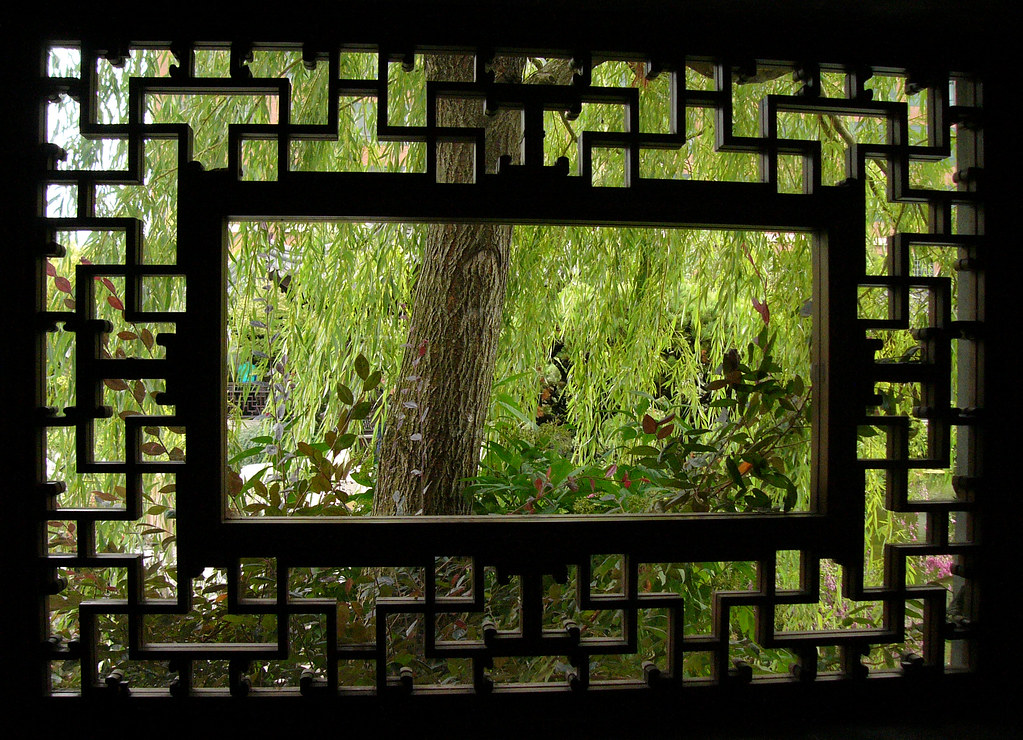 Chinese Gdn Thru Window History Amp Culture The Portland