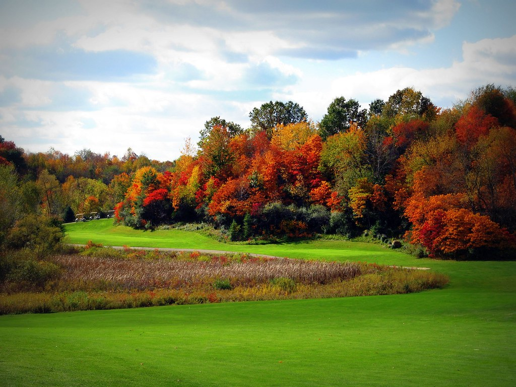 Golf 4 Forum >> Fall Golf   Scott Lake Country Club. Looking back at the tee…   Flickr