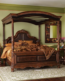Hand Carved Mahogany Bed Frame This Beautiful Piece Was