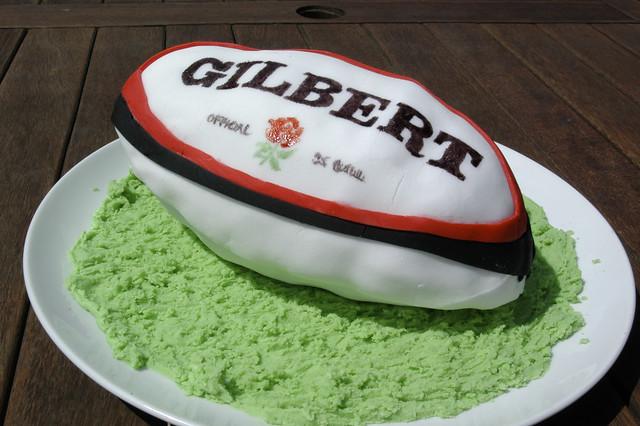 Rugby Birthday Cake Recipe
