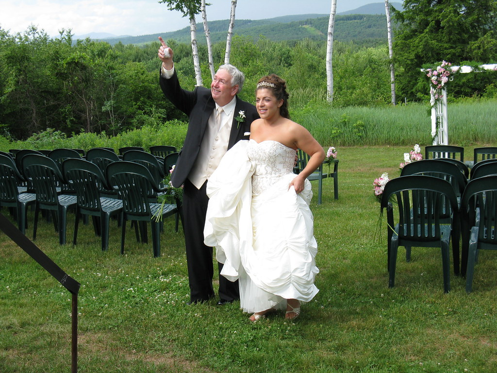 Wedding Greenhouse at Italian Farmhouse Plymouth NH