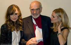 Sean connery, keira knightly and seinna millar | by dombower83