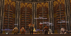 Libraries and Librarians Guild Member In the Ironforge Library | by libraryman
