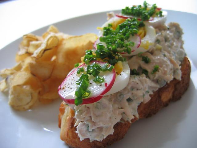 Thomas Keller's Tuna Tartine
