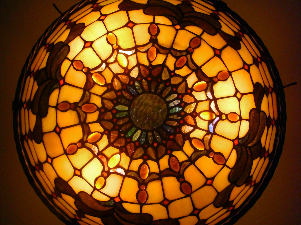 Stained Glass Dining Room Fixtures