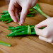 Tying Up Green Beans