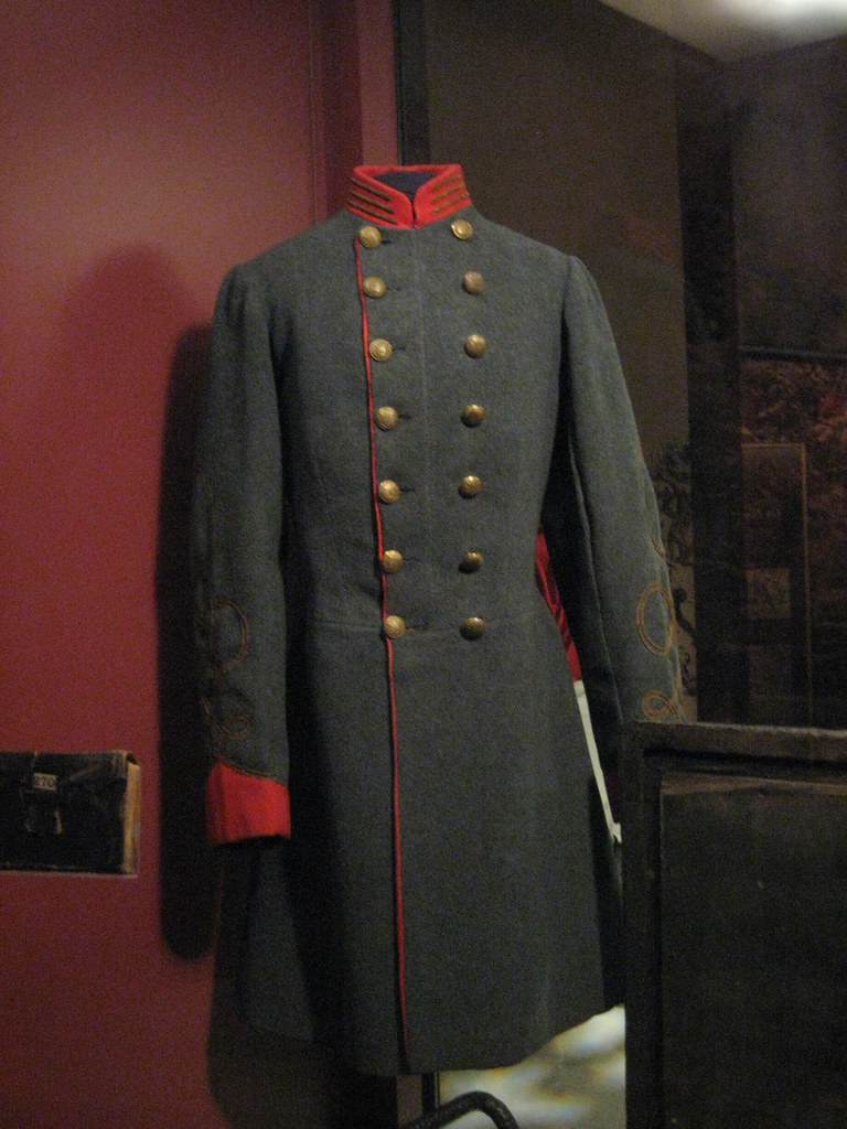 Confederate Uniform Artillery Coat This Is From South