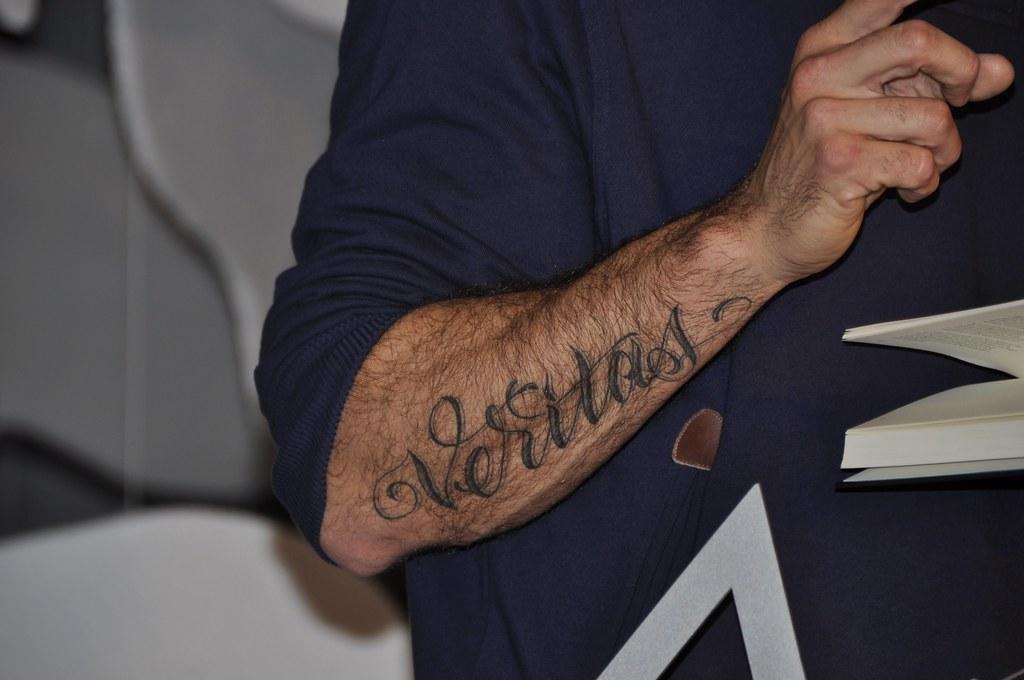 Arie Boomsma S Tattoo Roberto Maldeno Flickr