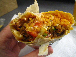 Chorizo Burrito from Rolling Taco | by rick