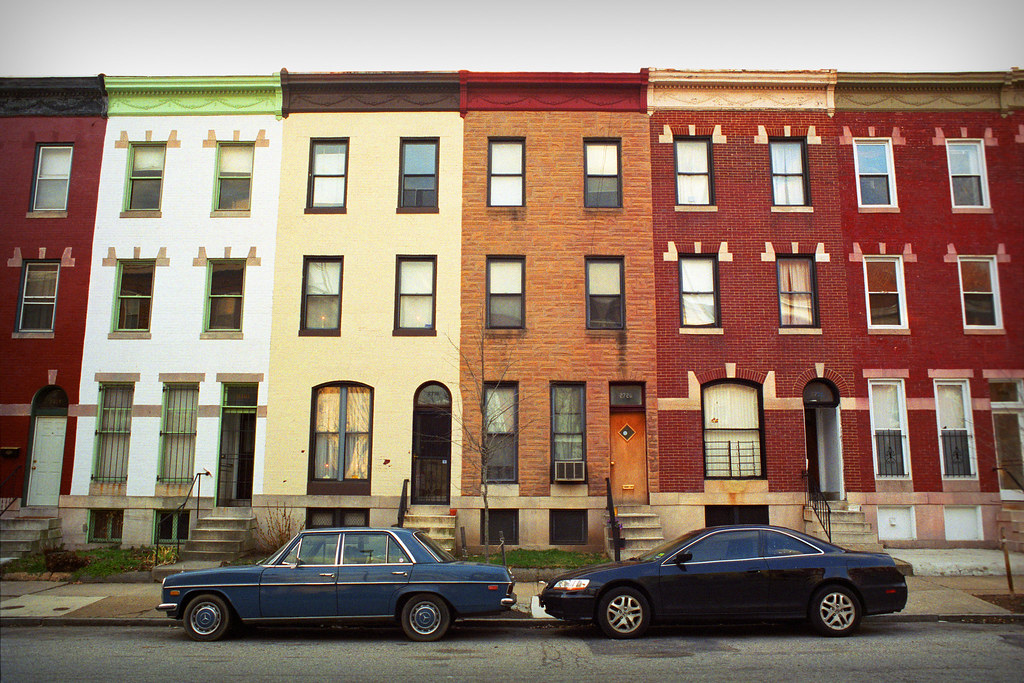 Row Houses In Baltimore Md : Baltimore rowhouse th and maryland charles village