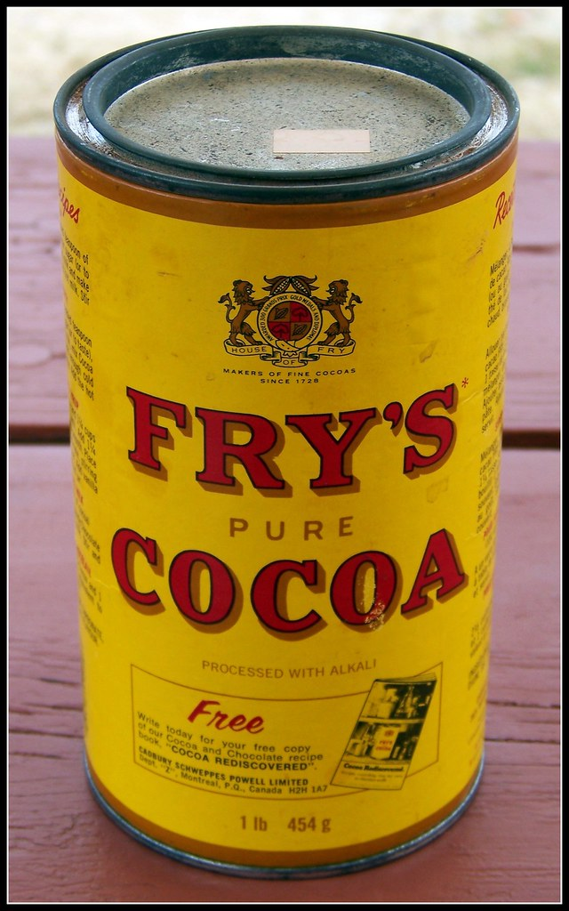 Fry S Pure Cocoa One Of My Miscellaneous Tins I Love
