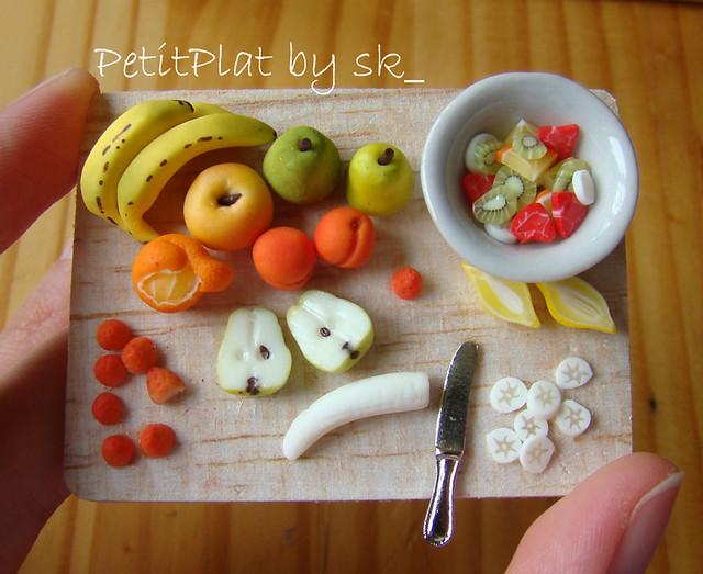 Miniature Food Fruit Salad 1 12 I Made An Effort On