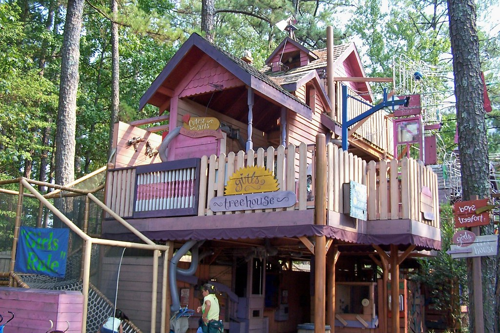 Children 39 s fantasy treehouse stone mountain park stone for House pictures for kids