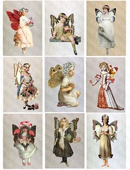 Altered Art fairies | by Resurrection Rags
