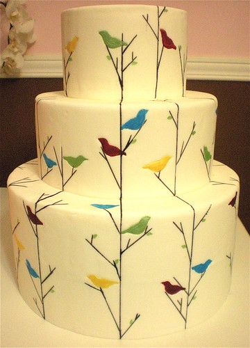 Vintage Baby Birds | by The Wedding Cake Shoppe